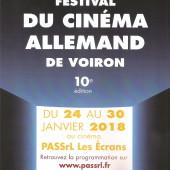 10e Festival du Cinéma Allemand de Voiron