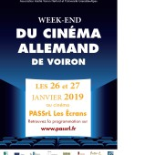 Weekend du cinéma allemand 26-27 janvier 2019 à Voiron