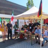 Bassano et Herford participent au congrès des pompiers à Voiron