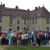 Visite des amis de Herford à Voiron en juillet 2019